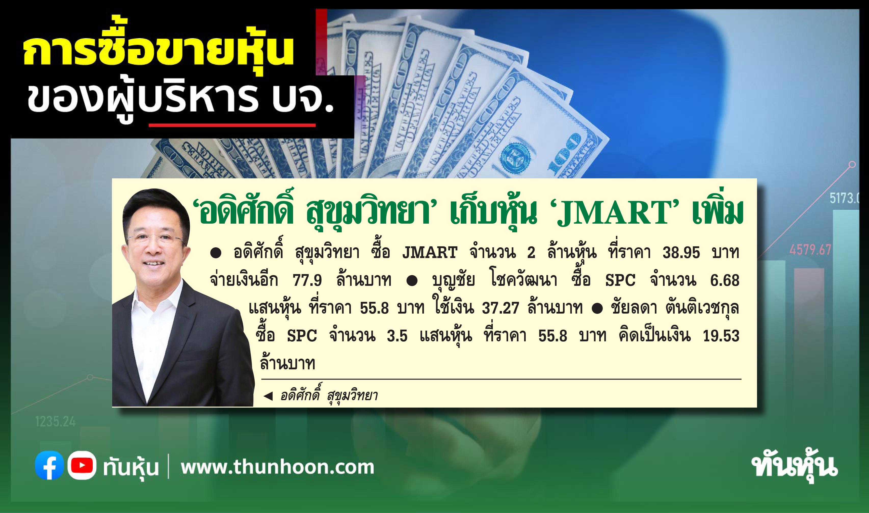 การซื้อขายหุ้นของผู้บริหาร บจ. ประจำวันที่ 28 ก.ย.2564